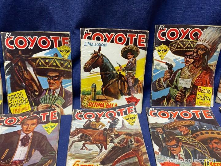 Tebeos: 15 numeros el coyote ed cliper 1ª edicion ver descripcion 19,5x14,5cms - Foto 3 - 224035925