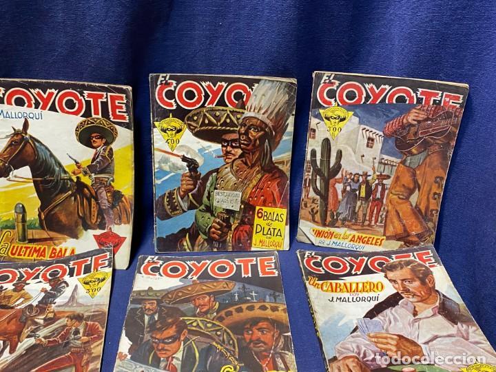 Tebeos: 15 numeros el coyote ed cliper 1ª edicion ver descripcion 19,5x14,5cms - Foto 4 - 224035925