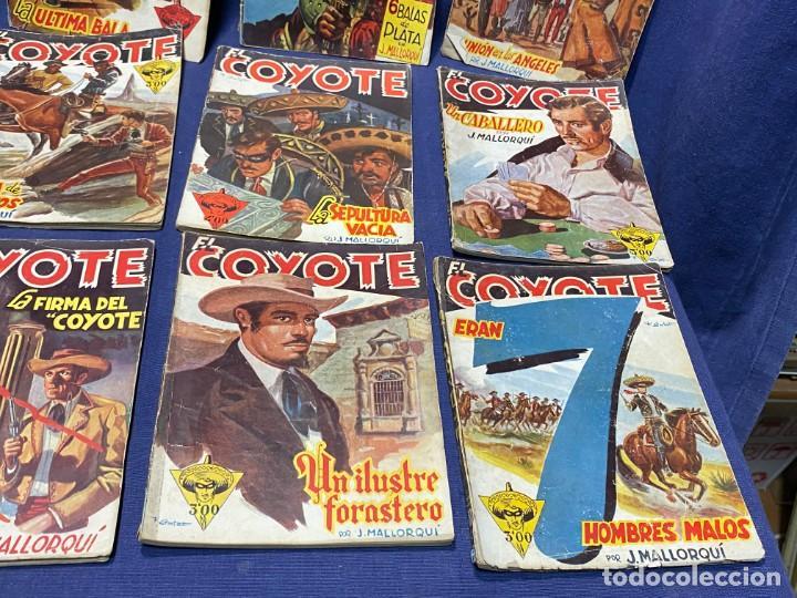 Tebeos: 15 numeros el coyote ed cliper 1ª edicion ver descripcion 19,5x14,5cms - Foto 5 - 224035925