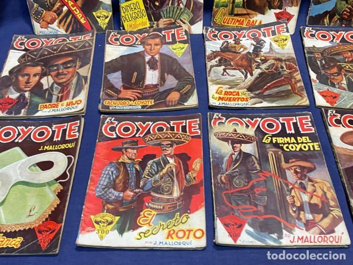 Tebeos: 15 numeros el coyote ed cliper 1ª edicion ver descripcion 19,5x14,5cms - Foto 7 - 224035925