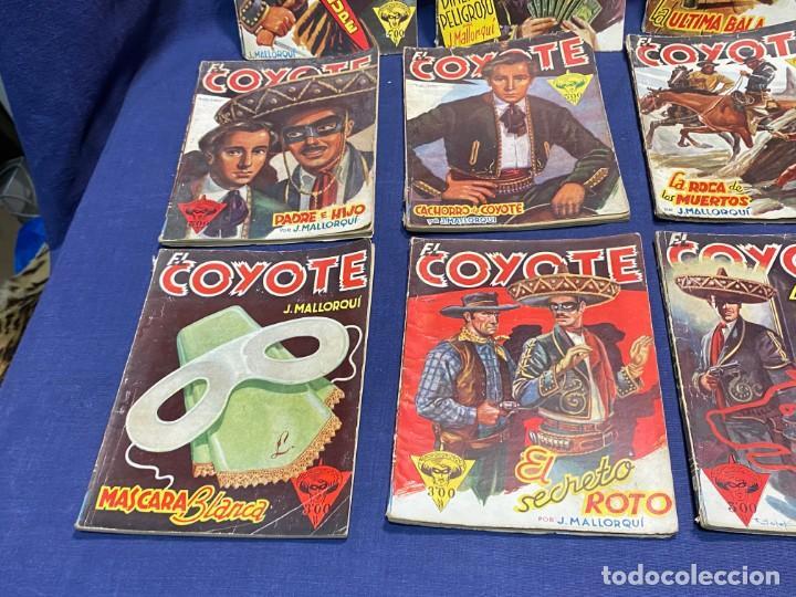Tebeos: 15 numeros el coyote ed cliper 1ª edicion ver descripcion 19,5x14,5cms - Foto 8 - 224035925