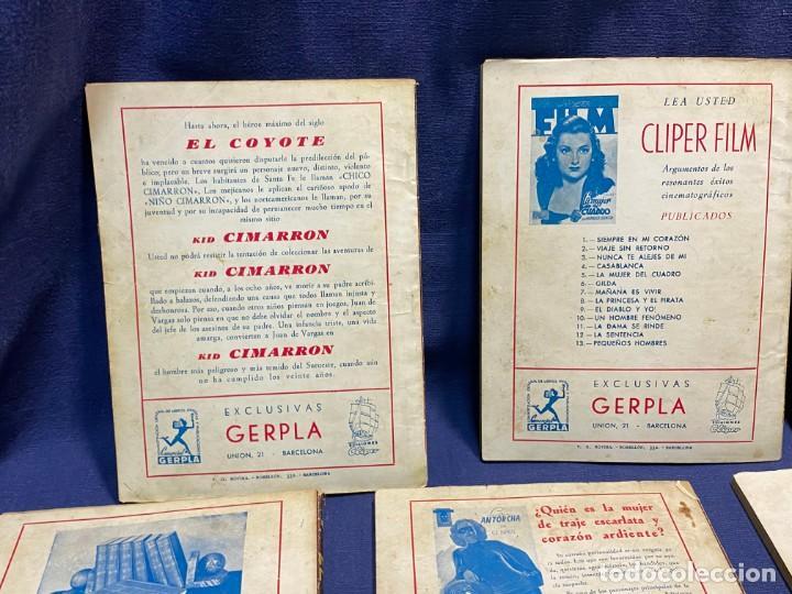 Tebeos: 15 numeros el coyote ed cliper 1ª edicion ver descripcion 19,5x14,5cms - Foto 10 - 224035925