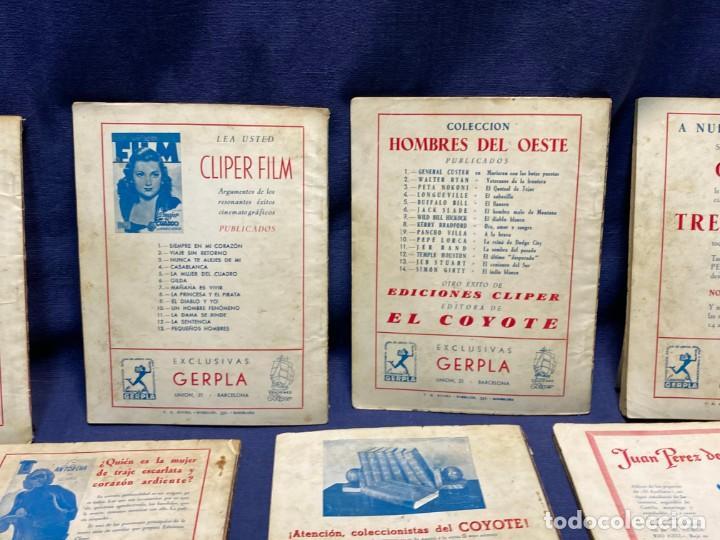Tebeos: 15 numeros el coyote ed cliper 1ª edicion ver descripcion 19,5x14,5cms - Foto 11 - 224035925
