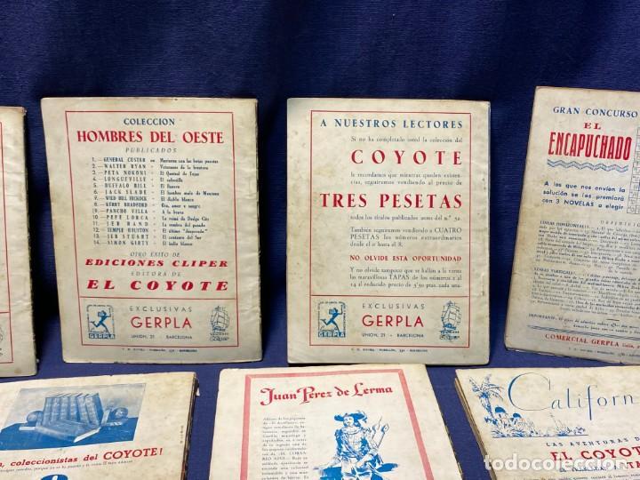 Tebeos: 15 numeros el coyote ed cliper 1ª edicion ver descripcion 19,5x14,5cms - Foto 12 - 224035925