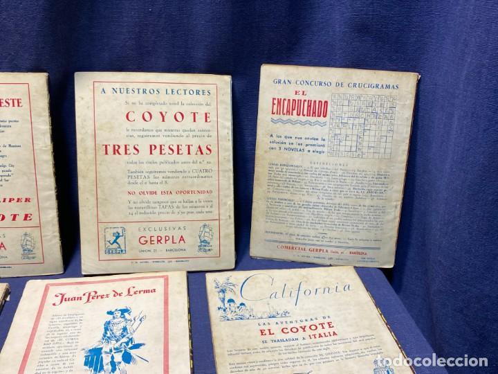 Tebeos: 15 numeros el coyote ed cliper 1ª edicion ver descripcion 19,5x14,5cms - Foto 13 - 224035925