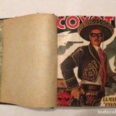 Tebeos: NOVELA EL COYOTE, EXTRAORDINARIO Nº 3 LA MANO DEL COYOTE 4 REVISTAS,PRIMERA EDICION 1946 EDC. CLIPER. Lote 224101761
