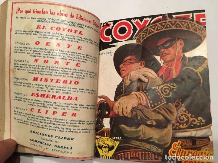 Tebeos: novela el coyote, extraordinario Nº 3 la mano del coyote 4 revistas,primera edicion 1946 edc. cliper - Foto 2 - 224101761