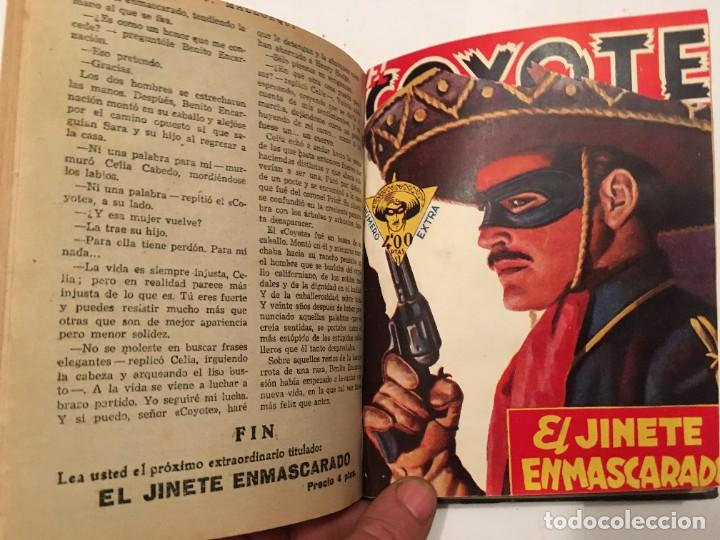Tebeos: novela el coyote, extraordinario Nº 3 la mano del coyote 4 revistas,primera edicion 1946 edc. cliper - Foto 4 - 224101761