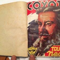Tebeos: NOVELA EL COYOTE,EXTRAORDINARIO Nº 7 TRUENO NEGRO 3 REVISTAS, PRIMERA EDICION 1946 EDICIONES CLIPER. Lote 224103198