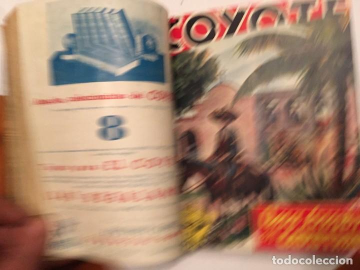 Tebeos: novela el coyote,extraordinario Nº 7 trueno negro 3 revistas, primera edicion 1946 ediciones cliper - Foto 2 - 224103198