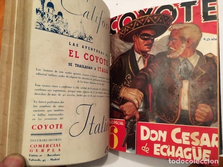 Tebeos: novela el coyote,extraordinario Nº 7 trueno negro 3 revistas, primera edicion 1946 ediciones cliper - Foto 3 - 224103198