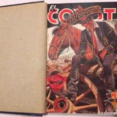 Tebeos: NOVELA EL COYOTE,EXTRAORDINARIO MENSAJERO DE PAZ 4 REVISTAS, PRIMERA EDICION 1946 EDICIONES CLIPER. Lote 224104220