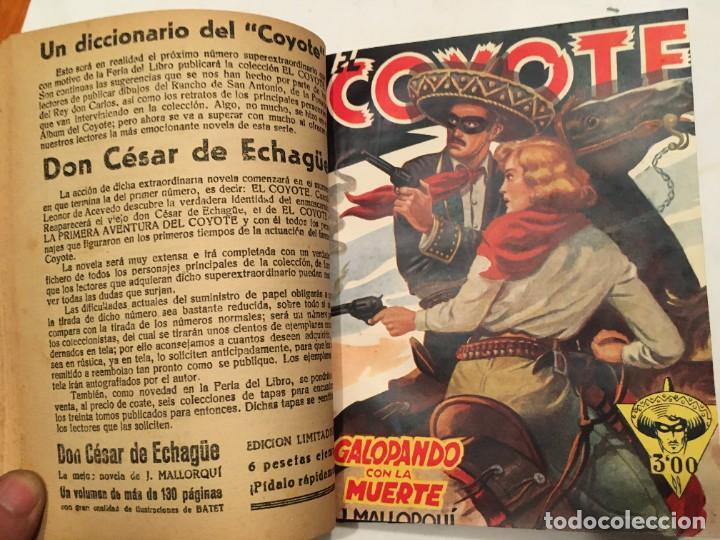 Tebeos: novela el coyote,extraordinario mensajero de paz 4 revistas, primera edicion 1946 ediciones cliper - Foto 2 - 224104220