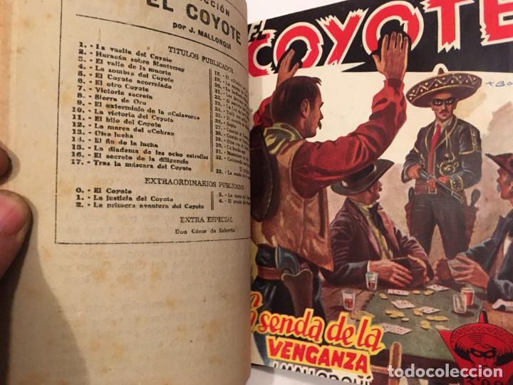 Tebeos: novela el coyote,extraordinario mensajero de paz 4 revistas, primera edicion 1946 ediciones cliper - Foto 3 - 224104220