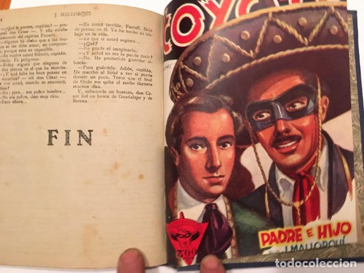 Tebeos: novela el coyote,extraordinario mensajero de paz 4 revistas, primera edicion 1946 ediciones cliper - Foto 4 - 224104220