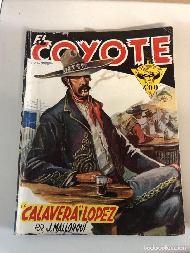 Tebeos: Lote de 5 libros de EL COYOTE POR J.MALLORQUÍ 1946 - Foto 2 - 224712455