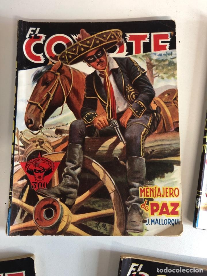 Tebeos: Lote de 5 libros de EL COYOTE POR J.MALLORQUÍ 1946 - Foto 3 - 224712455
