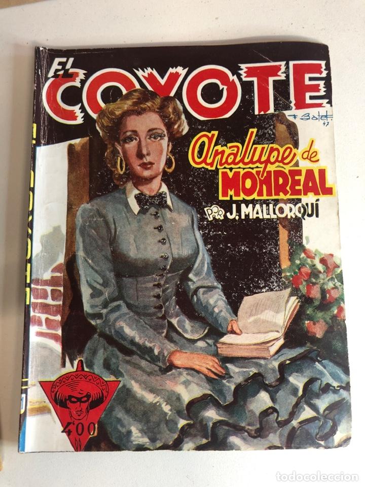 Tebeos: Lote de 5 libros de EL COYOTE POR J.MALLORQUÍ 1946 - Foto 4 - 224712455