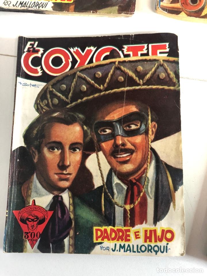 Tebeos: Lote de 5 libros de EL COYOTE POR J.MALLORQUÍ 1946 - Foto 6 - 224712455