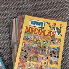Tebeos: NICOLAS, CLIPER , 50 NUMEROS , AÑO 1952, LA MAYORIA SOLO USADOS 1 VEZ. Lote 228331465