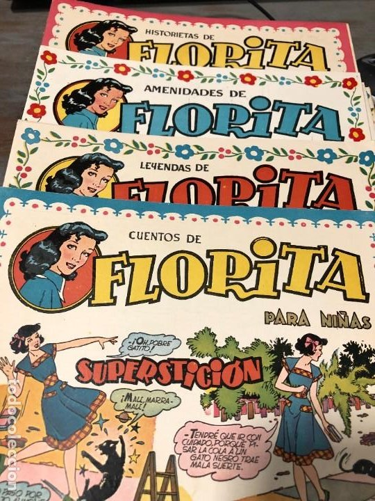 FLORITA AÑO 1951 NUMEROS 94 CLIPER (Tebeos y Comics - Cliper - Florita)