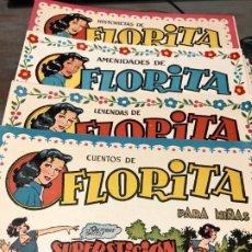 Tebeos: FLORITA AÑO 1951 NUMEROS 50 CLIPER. Lote 228493605