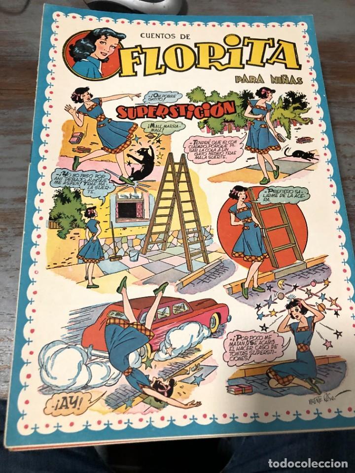 Tebeos: FLORITA AÑO 1951 NUMEROS 94 CLIPER - Foto 2 - 228493605