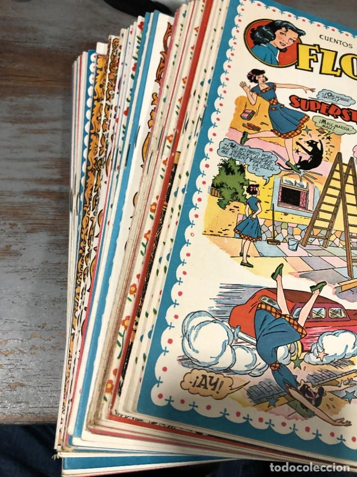 Tebeos: FLORITA AÑO 1951 NUMEROS 94 CLIPER - Foto 3 - 228493605