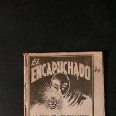 Tebeos: EL ENCAPUCHADO Nº 44-LA DAMA DE LOS BRILLANTES-EDICIONES CLIPER-1949. Lote 229284265