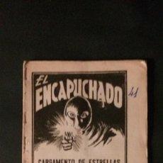 Tebeos: EL ENCAPUCHADO Nº 41-CARGAMENTO DE ESTRELLAS-EDICIONES CLIPER-1948. Lote 229286170