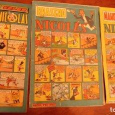 Tebeos: NICOLAS . CLIPER 3 NUMEROS 25-26-46. Lote 230086935