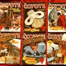 Tebeos: EL COYOTE - LOTE 12 EJEMPLARES (1ª EDICION ORIGINAL) J. MALLORQUÍ - EDICIONES CLIPER. Lote 230225370