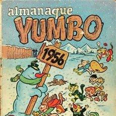 Tebeos: YUMBO-CLIPER-ALMANAQUE PARA 1956-GIN-GARCÍA LORENTE-JULIO MONTAÑÉS-1955-DIFÍCIL-BUENO-LEA-4209. Lote 231335735