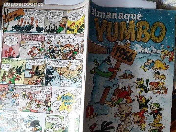 Tebeos: YUMBO-CLIPER-ALMANAQUE PARA 1956-GIN-GARCÍA LORENTE-JULIO MONTAÑÉS-1955-DIFÍCIL-BUENO-LEA-4209 - Foto 3 - 231335735
