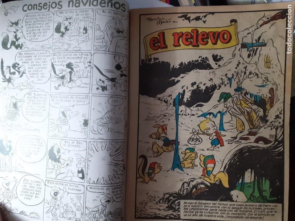 Tebeos: YUMBO-CLIPER-ALMANAQUE PARA 1956-GIN-GARCÍA LORENTE-JULIO MONTAÑÉS-1955-DIFÍCIL-BUENO-LEA-4209 - Foto 5 - 231335735