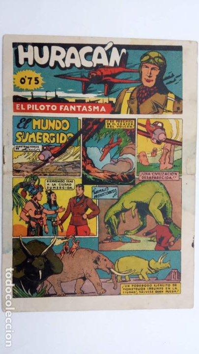 Tebeos: HURACAN EDI. CISNE 1942 ORIGINALES NºS - 6,7,8 - MUY BIEN CONSERVADOS - Foto 2 - 231623715