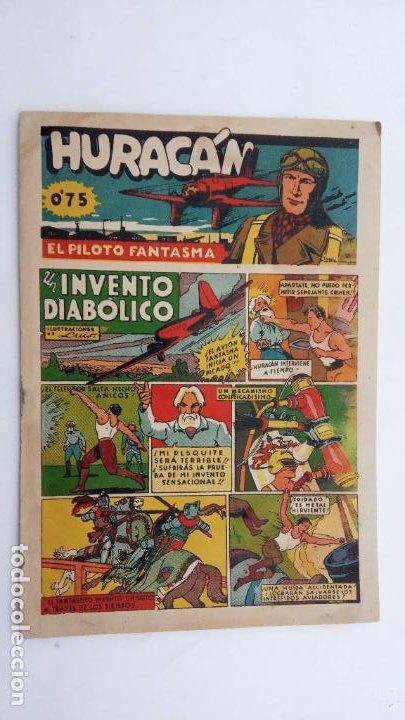 Tebeos: HURACAN EDI. CISNE 1942 ORIGINALES NºS - 6,7,8 - MUY BIEN CONSERVADOS - Foto 4 - 231623715