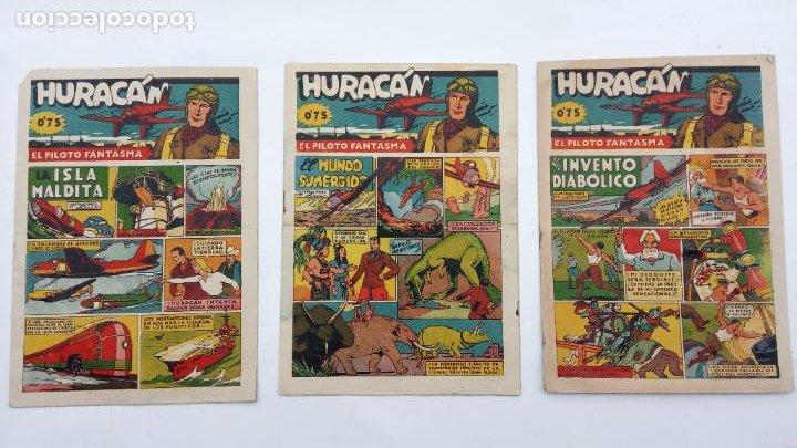HURACAN EDI. CISNE 1942 ORIGINALES NºS - 6,7,8 - MUY BIEN CONSERVADOS (Tebeos y Comics - Cliper - Otros)