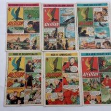 Tebeos: ALCOTAN ORIGINAL NºS - 1,6,8,9,10,11 - AÑO 1951 EXCLUSIVAS GERPLA. Lote 231626705