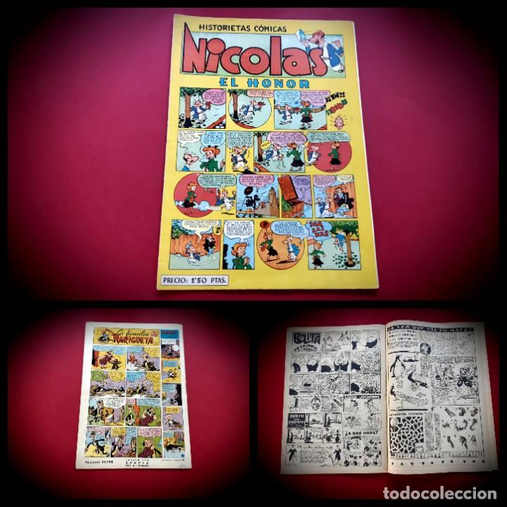 NICOLAS. HISTORIETAS COMICAS. EL HONOR. Nº 10. ORIGINAL-EXCELENTE ESTADO (Tebeos y Comics - Cliper - Nicolas)