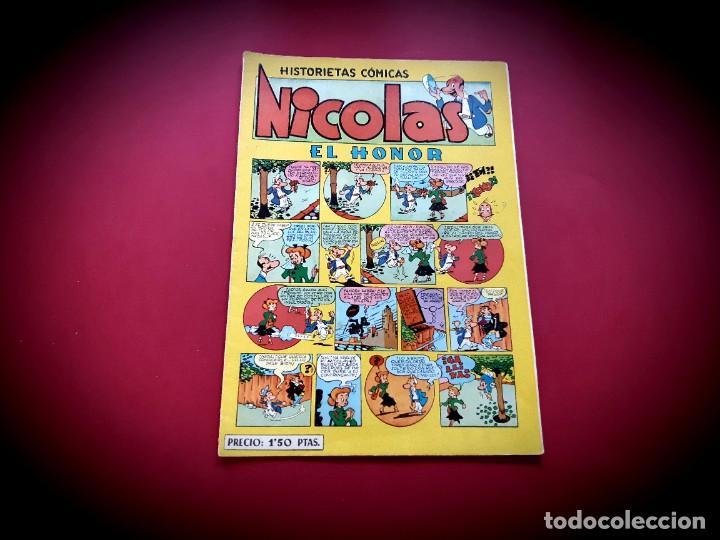Tebeos: NICOLAS. HISTORIETAS COMICAS. EL HONOR. Nº 10. ORIGINAL-EXCELENTE ESTADO - Foto 2 - 232146655
