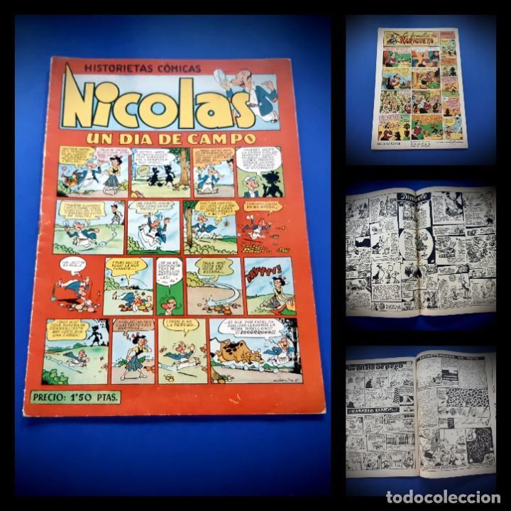 NICOLAS. HISTORIETAS COMICAS. EL HONOR. Nº 21. ORIGINAL-EXCELENTE ESTADO (Tebeos y Comics - Cliper - Nicolas)