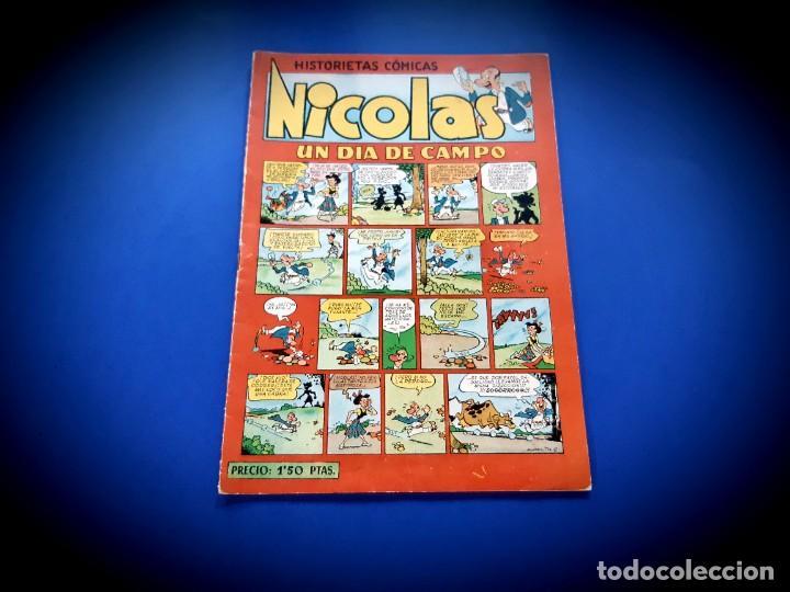Tebeos: NICOLAS. HISTORIETAS COMICAS. EL HONOR. Nº 21. ORIGINAL-EXCELENTE ESTADO - Foto 2 - 232147640