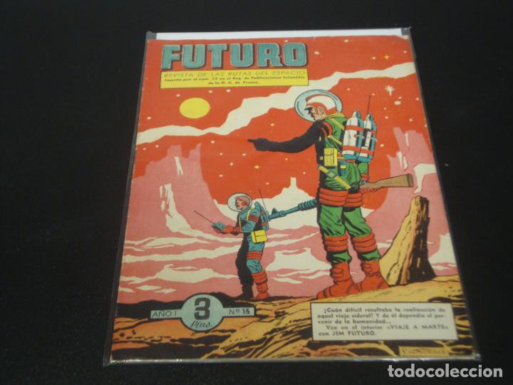 FUTURO Nº 13 EDITORIAL CLIPER (Tebeos y Comics - Cliper - Otros)