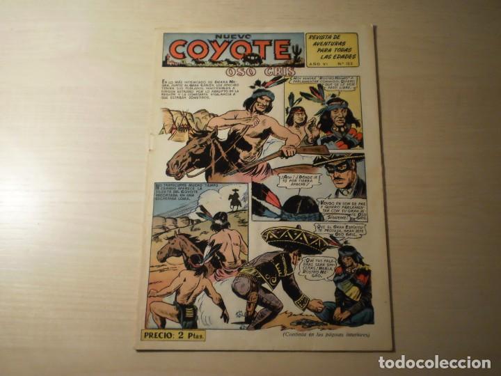 NUEVO COYOTE Nº 152 (ORIGINAL) - EDITORIAL CLIPER (Tebeos y Comics - Cliper - El Coyote)