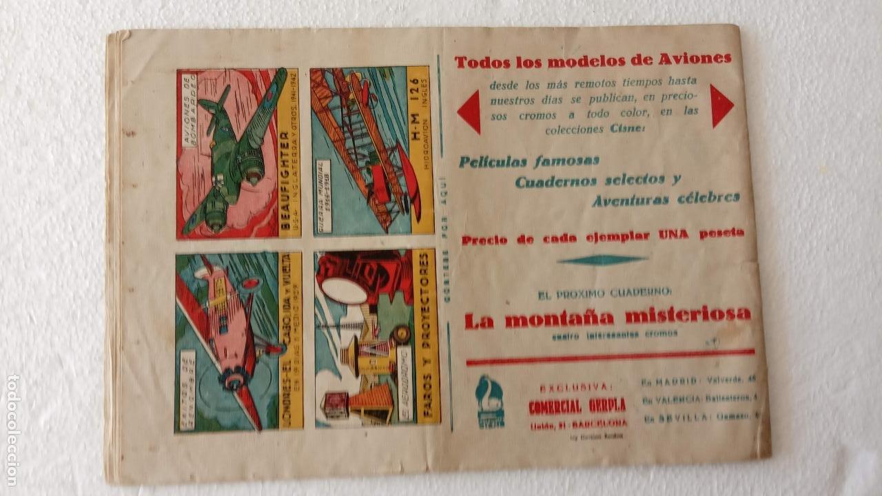 Tebeos: PELICULAS FAMOSAS EDI- CISNE- GERPLA 1942 ORIGINAL CON CROMOS - Foto 2 - 233762925