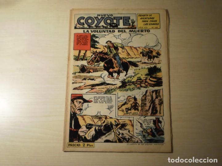 NUEVO COYOTE Nº 164 (ORIGINAL) - EDITORIAL CLIPER (Tebeos y Comics - Cliper - El Coyote)