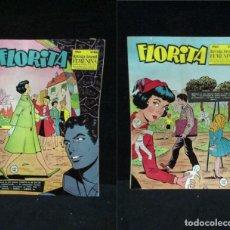 Tebeos: LOTE DE 2 COMICS - FLORITA. REVISTA PARA NIÑAS AÑO X Nº 468 Y 466 - EDICIONES CLIPER. Lote 233877820