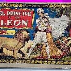 Tebeos: EL PRINCIPE Y EL LEON. ORIGINAL. CISNE/CLIPER/GERPLA. COLECCION CUENTOS DE HADAS. SALVADOR MESTRES. Lote 234393860