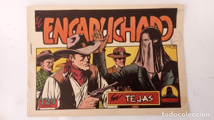 Tebeos: EL ENCAPUCHADO ORIGINALES NºS - 9,12,13,18,24 - EDI. CLIPER 1949 - ADRIANO BLASCO - Foto 5 - 234680150